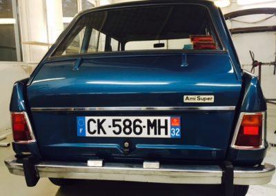Autolackierung und Karosseriebau in Altenburg   Citrön AMI Super / Baujahr 1973 Oldtimer Restaurierung