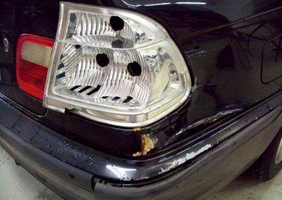Autolackierung und Karosseriebau in Altenburg   3er BMW Unfallinstandsetzung